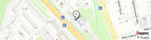 Маэстро на карте Хабаровска