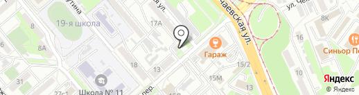 Дальневосточная строительная компания на карте Хабаровска