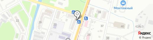Парус на карте Хабаровска