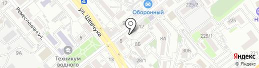 Домишко на карте Хабаровска