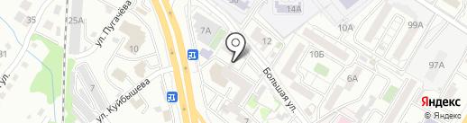 ХКС на карте Хабаровска