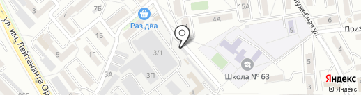 Бизнес Проект на карте Хабаровска
