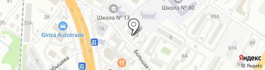 Nail`s на карте Хабаровска
