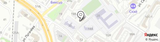 Мамомба на карте Хабаровска