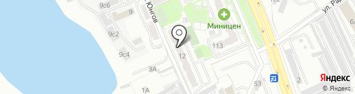Альсафи Курьер на карте Хабаровска