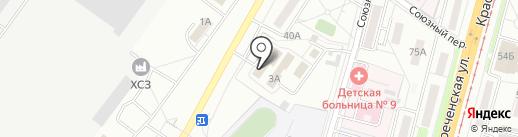 Дальневосточный региональный центр МЧС России на карте Хабаровска