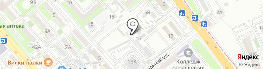 Магазин запчастей для корейских автомобилей на карте Хабаровска