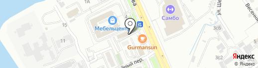 Автодилер Плаза на карте Хабаровска