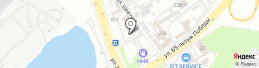 PACIFIC STRONG GYM на карте Хабаровска