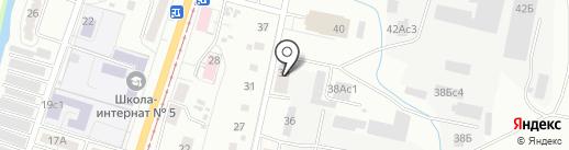 М-38 на карте Хабаровска