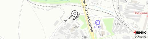ЦементТорг на карте Хабаровска