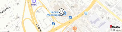 Кофеварка на карте Хабаровска