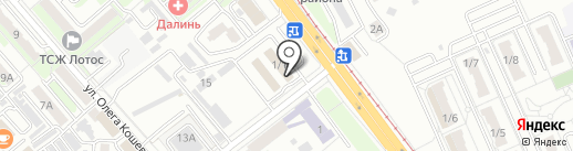 Джапан-Трак на карте Хабаровска