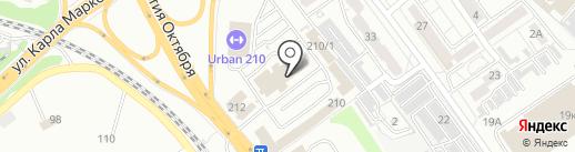 Аквафор на карте Хабаровска