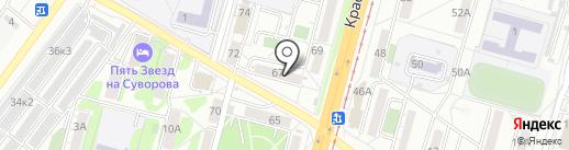 МЕБЕЛЬЩИК на карте Хабаровска