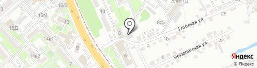 Метапром на карте Хабаровска