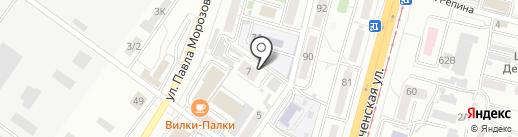 Союзная 7, ТСЖ на карте Хабаровска