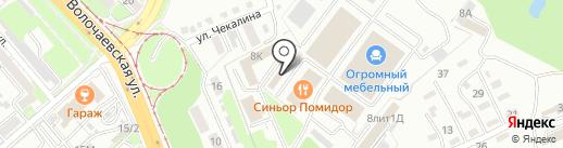 Интерьер строй на карте Хабаровска