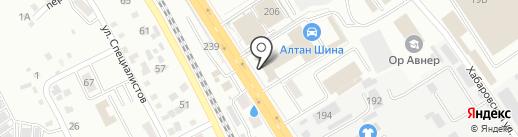 АБАТ-сервис на карте Хабаровска
