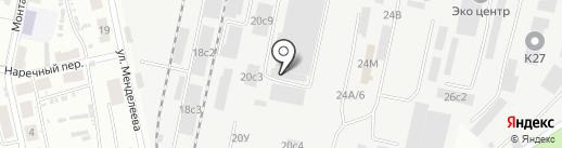Джей Ди на карте Хабаровска