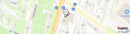 Мистер Твистер на карте Хабаровска