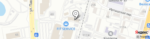 Строй-Программа на карте Хабаровска