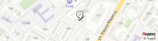 КарамелькА на карте Хабаровска