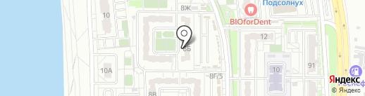 Соната, ТСЖ на карте Хабаровска