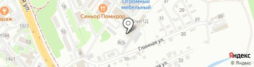МастерДВ на карте Хабаровска