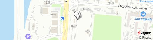 Магазин автотоваров на карте Хабаровска