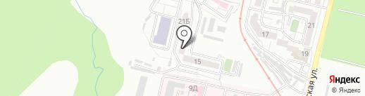 Солнце, ТСЖ на карте Хабаровска