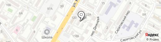 ЛеоновЪ на карте Хабаровска