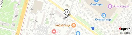 Мастер-Фломастер на карте Хабаровска