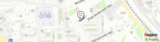 Продовольственный магазин на карте Хабаровска