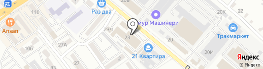 Ойл Маркет на карте Хабаровска