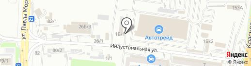 Шинмарт на карте Хабаровска