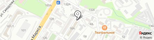 Артаком на карте Хабаровска
