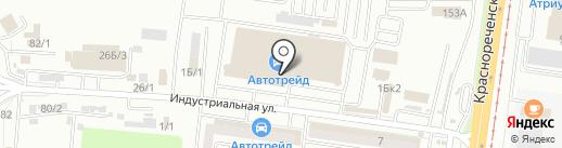Дальневосточные охранные системы на карте Хабаровска