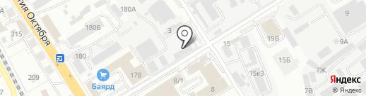 ГК МЭК на карте Хабаровска