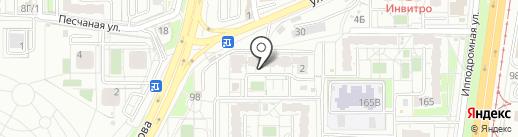 Фортуна, ТСЖ на карте Хабаровска
