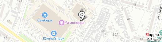 Мои документы на карте Хабаровска