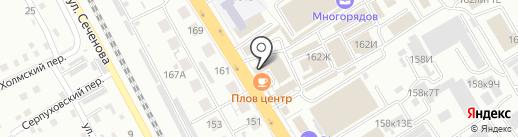 Фруктошоп на карте Хабаровска