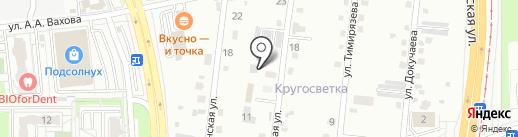 Славна-строй на карте Хабаровска