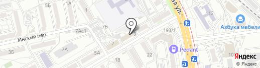 Купи и Пеки на карте Хабаровска