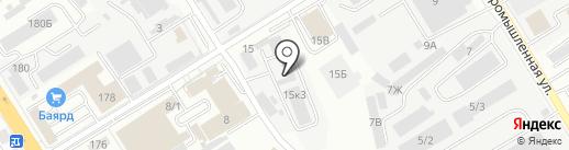 Дальэнергоучет на карте Хабаровска
