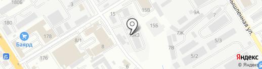 РусПромДВ на карте Хабаровска