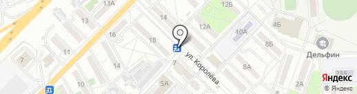 Киоск по ремонту обуви на карте Хабаровска