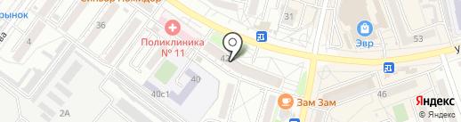 Академия окон на карте Хабаровска