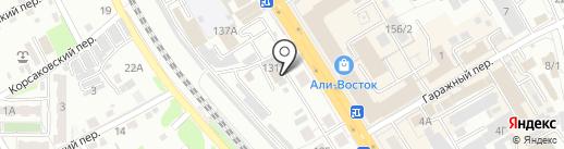 Бородатый Торговец на карте Хабаровска