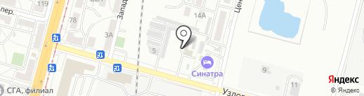Военный комиссариат Индустриального района г. Хабаровск на карте Хабаровска